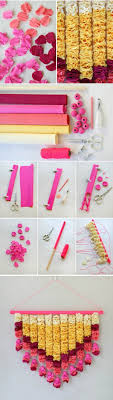 Diwali Easy Paper Decor Diy Decorations Ideas Candles On Light For Diwal