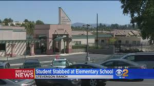 Student, 12, Arrested For Stabbing Peer With Knife At Stevenson ...