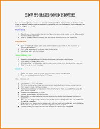 100 How To Write A Good Resume Steps Writing S Fabulous Best Service
