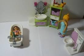 playmobil badezimmer mit 2 figuren eur 4 80 picclick de