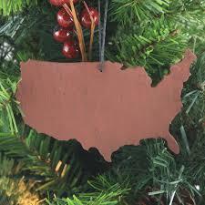 MasonJarscom United States Slate Christmas Ornament