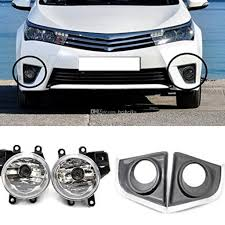 Fog Lamp For Toyota Corolla Euro Type2014 2015 Front Fog Lamp Cover ... Kc Hilites Gravity Led G4 Toyota Fog Light Pair Pack System Amazoncom Driver And Passenger Lights Lamps Replacement For Flood Beam Suv Utv Atv Auto Truck 4wd 5 Inch 72 Watts Trucklite 80514 7x375 Rectangular 19992018 F150 Diode Dynamics Fgled34h10 2inch Square Cree Kit 052018 Nissan Frontier Chevy Silverado 9902 Tahoe Suburban 0005 0405 Ford Ranger Pickup Set Of Everydayautopartscom 2x 12 24v 9 Inch Spot Lamp Park Bulb Trailer Van Car 72018 Raptor Baja Designs Unlimited Bucket Offroad Jeep Halogen Hilites Daytime Running Fog Lights Cherokee Kj 2001 To