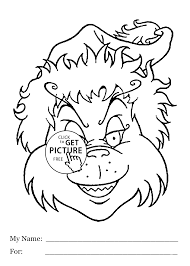 Download Coloring Pages Grinch Page Had For Kids Printable Free