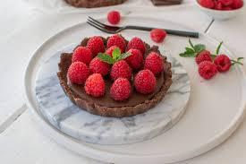 schokoladen tarte ohne backen glutenfrei low carb