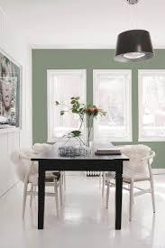 farbige wände raumwirkung salbei grün fenster weißer boden