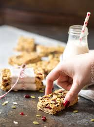 Are Kashi Pumpkin Spice Flax Bars Healthy by No Bake Chewy Trail Mix Granola Bars The Chunky Chef