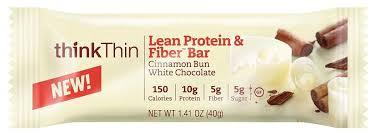 Think Thin Lean Protein Fiber Cinnamon Bun White Chocolate