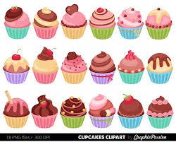 Cupcakes clipart digital cupcake clip art cupcake digital illustration cupcake Vector birthday cakes bakery sweets frosting