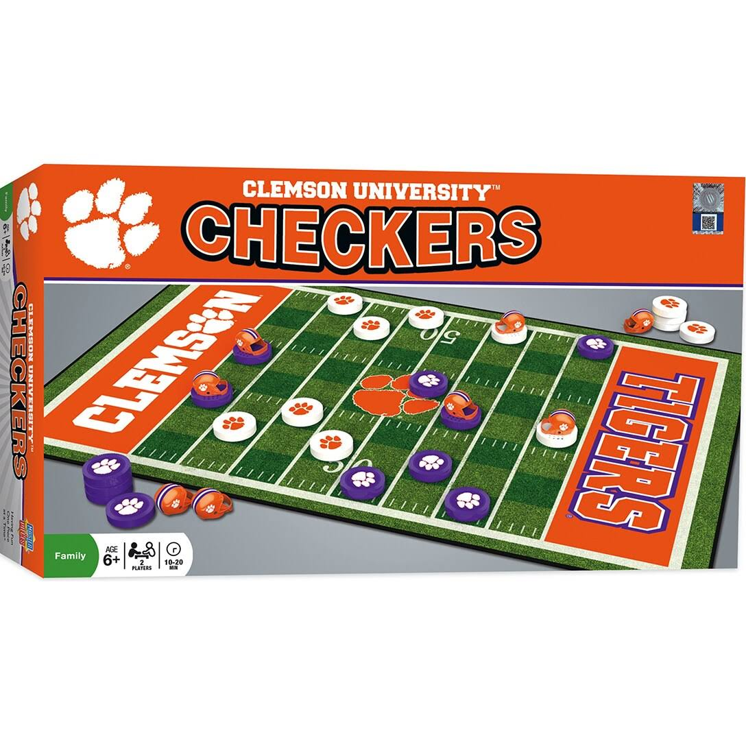 Masterpieces Clemson Checkers