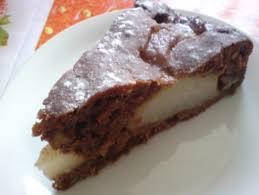 birnen schoko nuss torte