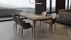 casa padrino luxus designer esstisch mit glasplatte in halb edelstein optik high class esszimmer tisch