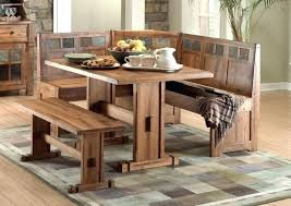 Dinette Bench Dining Room Table With Built In Seating Dinning Kitchen