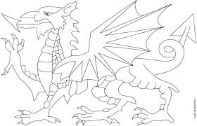 Welsh Flag Coloring Pages