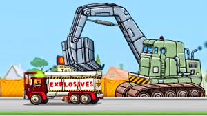 Truck City - Tow Truck | The Excavator, Explosive Demolition Truck ...