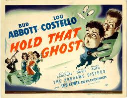 Vintage Ad Archive Halloween Hysteria by Halloween Havoc Abbott U0026 Costello In Hold That Ghost Universal