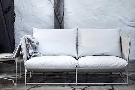 outdoor sofas draußen entspannen schöner wohnen