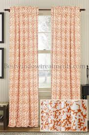 Orange Sheer Curtains Walmart by Unique Curtains Orange Shower Curtains Walmart For Salmon