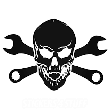 6 Inch Tool Wrench Skull Decal Sticker - Car Decals And Stickers Vinyl The 2nd Half Price Firefighter Skull Car Sticker 1915cm Car Styling 2 Metal Mulisha Girl Skulls Bow Vinyl Decals 22 X Window Truck Army Star Military Bed Stripe Pair Skumonkey 2019 X13cm Punisher Auto Sticker Pentagram Cg3279 Harleydavidson Classic Graphix Willie G Decal Pistons Hood Matte Black Ram F150 Pin By Aliwishus On Skulls Flags Pinterest Stickers And Decalset Hd Skull American Flag Backround Cg25055 Die Cutz High Quality White Deer Rack Wall Etsy Unique For Trucks Northstarpilatescom Buy Shade Tribal Graphics Van