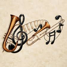 Astonishing Design Music Metal Wall Art Musical Interlude
