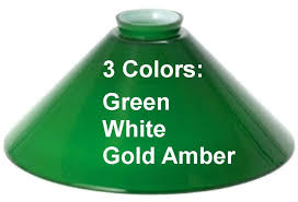 Green Bankers Lamp Shade Replacement by Pool Table Billiard Light Replacement Glass Shade Lamp Shade Pro
