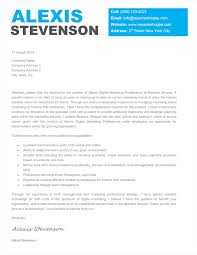 The Alexis Cover Letter template is an effective creative cover