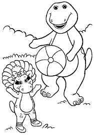 Barney Printable Coloring Pages 13 Free For Kids