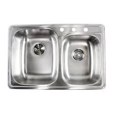 Kohler Riverby Top Mount Sink by Contempo Living Inc Kitchen Sinks Sears