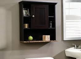 Unfinished Bathroom Wall Cabinets by 31 Wood Wall Cabinet Bathroom Bathroom Cabinets Dark Wood With