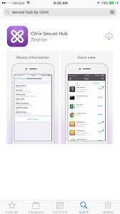 Citrix Secure Hub MDM Mobile Device Management Setup Powered