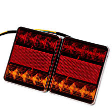2018 8 Led Car Truck Tail Light Warning Lights Rear Lamps Waterproof ... 2x Led Rear Tail Lights Truck Trailer Camper Caravan Bus Lorry Van 0708 Dodge Ram Pickup Euro Red Clear 111 Round And W Builtin Reflector 4 Inch Led Whosale 2018 8 Car Light Warning Rear Lamps Waterproof Amazonca Trucklite 44022r Super 44 Stopturntail Kit 42 2 Pcs With License Plate Lamp Durable Lights Ucktrailer Circular Stoptail Lamp 1030v 1 Pair 12v Turn Signal 20fordf150taillight The Fast Lane