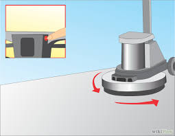Floor Buffer Maintenance by How To Use A High Speed Floor Buffer 7 Steps With Pictures