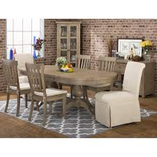 furniture teak expandable dining table with drop leaf on grey