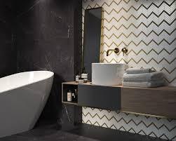 weiß gold mosaik vor dem hintergrund schwarzem marmor im