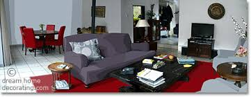 Red Plum Pale Blue And White Paint Colors For A Living Room