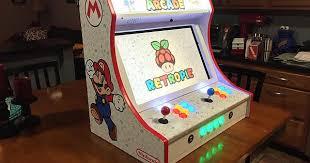 Bartop Arcade Cabinet Plans Pdf by We Made A Bartop Arcade Machine Diy