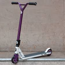 V4 Purple Player Custom Scooter District