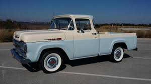 1960 Ford F100 Custom Cab Pickup | Pickup Trucks: 1959 - 1962 ... Why Nows The Time To Invest In A Vintage Ford Pickup Truck Bloomberg 1960 F100 Classics For Sale On Autotrader This Sema Build Will Make You Say What Budget Wheels Pinterest Trucks And Classic Ranchero Red Motormax 79321acr 124 F1 Street Legens Hot Rods The Show 2016 Youtube Ford 12 Ton Short Bed 460 Big Block Power C6 Frankenford With Caterpillar Diesel Engine Swap Classiccarscom Cc708566 To 1970 Trucks For Best Resource Nice Lowered Stance Satin Black Paint Job
