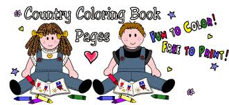Coloring Clipart Book Page Free To Print Fun Color