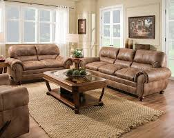 American Freight Living Room Tables by Rochester Hazelnut Sofa And Loveseat Contemporary Living Room