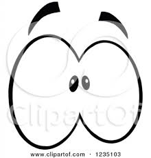 Scared Eyes Clipart Royalty Free Rf Of Illustrations Vector 450 X 470