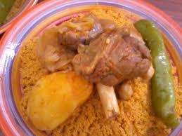 recette cuisine couscous tunisien recette couscous à l agneau