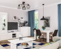 neman wohnzimmer komplett palermo weiß moebel de