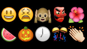 Halloween Express Raleigh Nc by Happy Faces Flowers And Monkeys Amongst The Most Popular Emoji