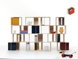modular shelf contemporary wooden living room twin box by