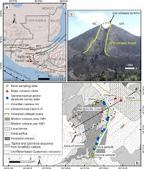 100 Where Is Guatemala City Located Location Of Pacaya Volcano And Main Geologic And Structural