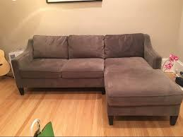 west elm paidge couch sectional chaise and loveseat for sale in