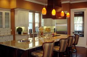 hanging lights kitchen island pendant light height above bench