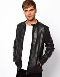 Selected | Selected Leather Jacket At ASOS | Alan Leather Jacket ... 22 0f The Best Mens Winter Coats 2017 Quilted Coat Womens Best Quilt Womens Coats Jackets Dillards 9 Waxed Canvas Gear Patrol 15 Winter Warm For Women Mens The North Face Sale Moosejaw Amazon Sellers Wool Barn Jacket Photos Blue Maize Sheplers American Eagle Style I Wish Had Men Flanllined Nice 10