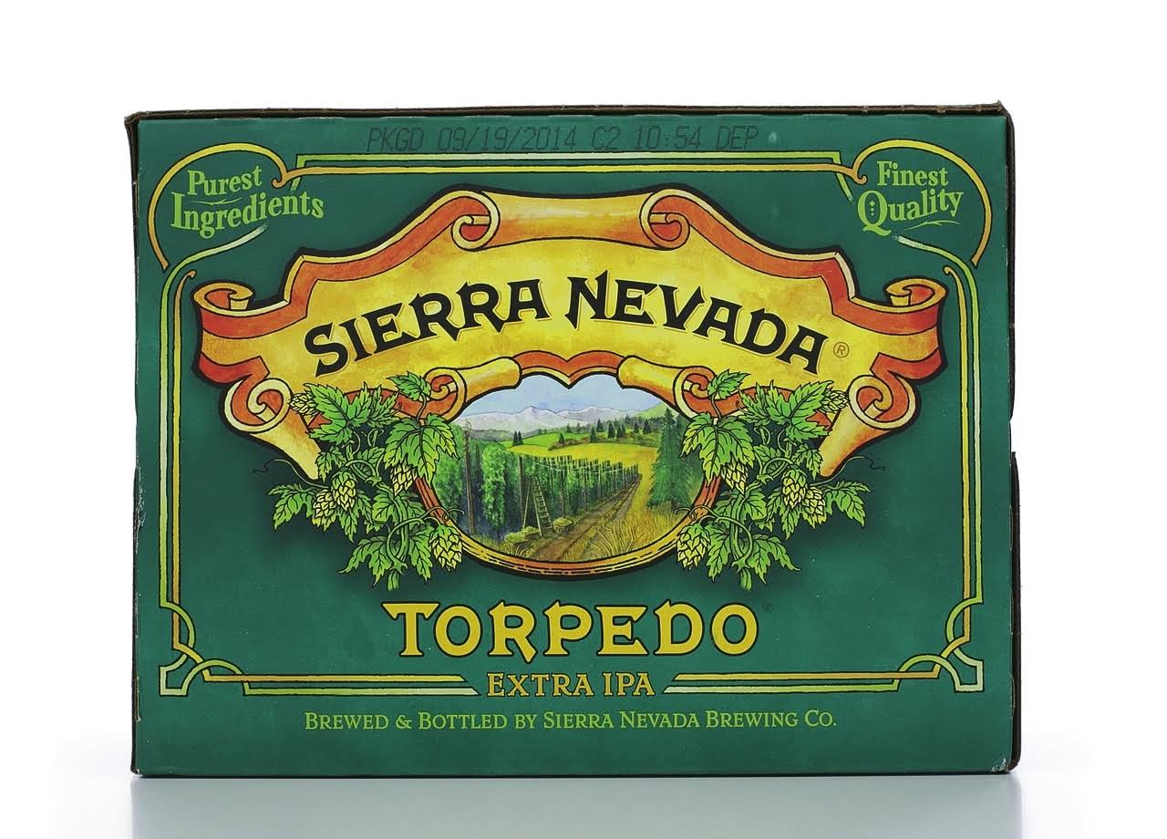 Sierra Nevada Beer, Extra IPA, Torpedo - 12 pack, 12 fl oz bottles
