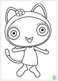 Printable Cbeebies Colouring Pages 18 Waybuloo Coloring Page